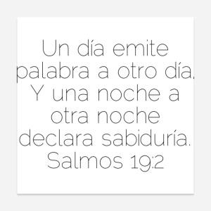 salmo 19:2